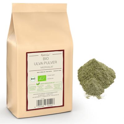 Bio Ulva Pulver - Meersalat getrocknet und fein gemahlen