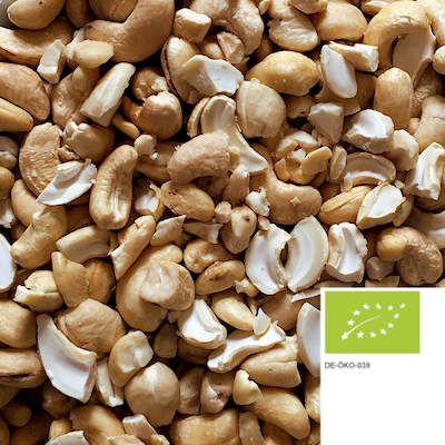 Unsere unbehandelten Bio Cashew-Nüsse