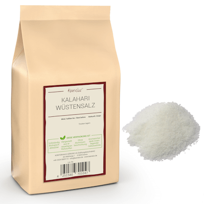 Feines Salz aus Afrika, ohne Zusätze