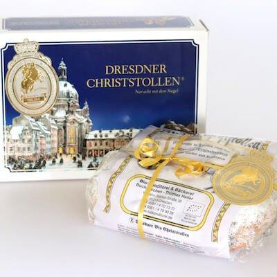 Unser Original Dresdner Christstollen in Bio-Qualität