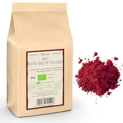 Bio Rote Bete Gemüsepulver fein von Kamelur®