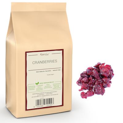 Cranberries mit Saft gesüßt von Kamelur
