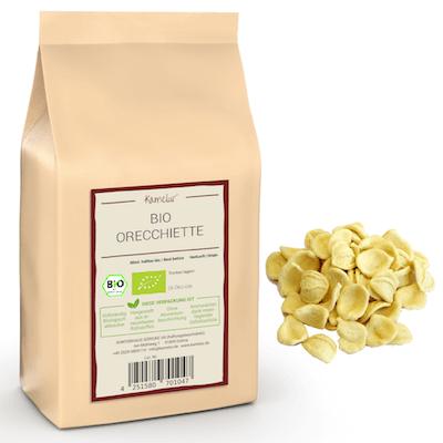 Bio Orechiette aus Hartweizen, Bio Pasta ohne Zusätze