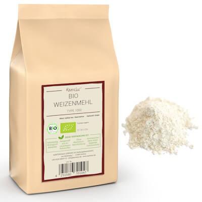 Bio Weizenmehl Type 1050 ohne Zusätze