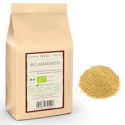 Amaranth Körner in Bio-Qualität