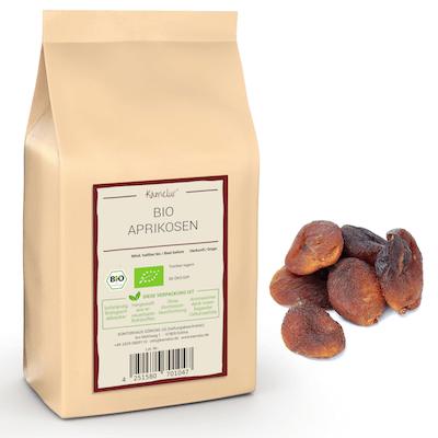 Bio Aprikosen von Kamelur, schonend getrocknet und ohne Zusätze