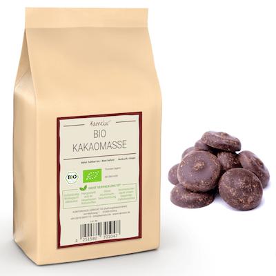 Bio Kakaomasse Criollo, Rohkost und ohne Zusätze