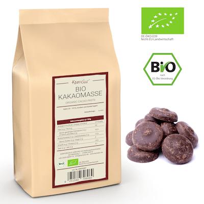 Bio Kakao Masse, ohne Zusätze